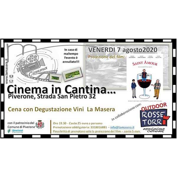 Cinema in cantina